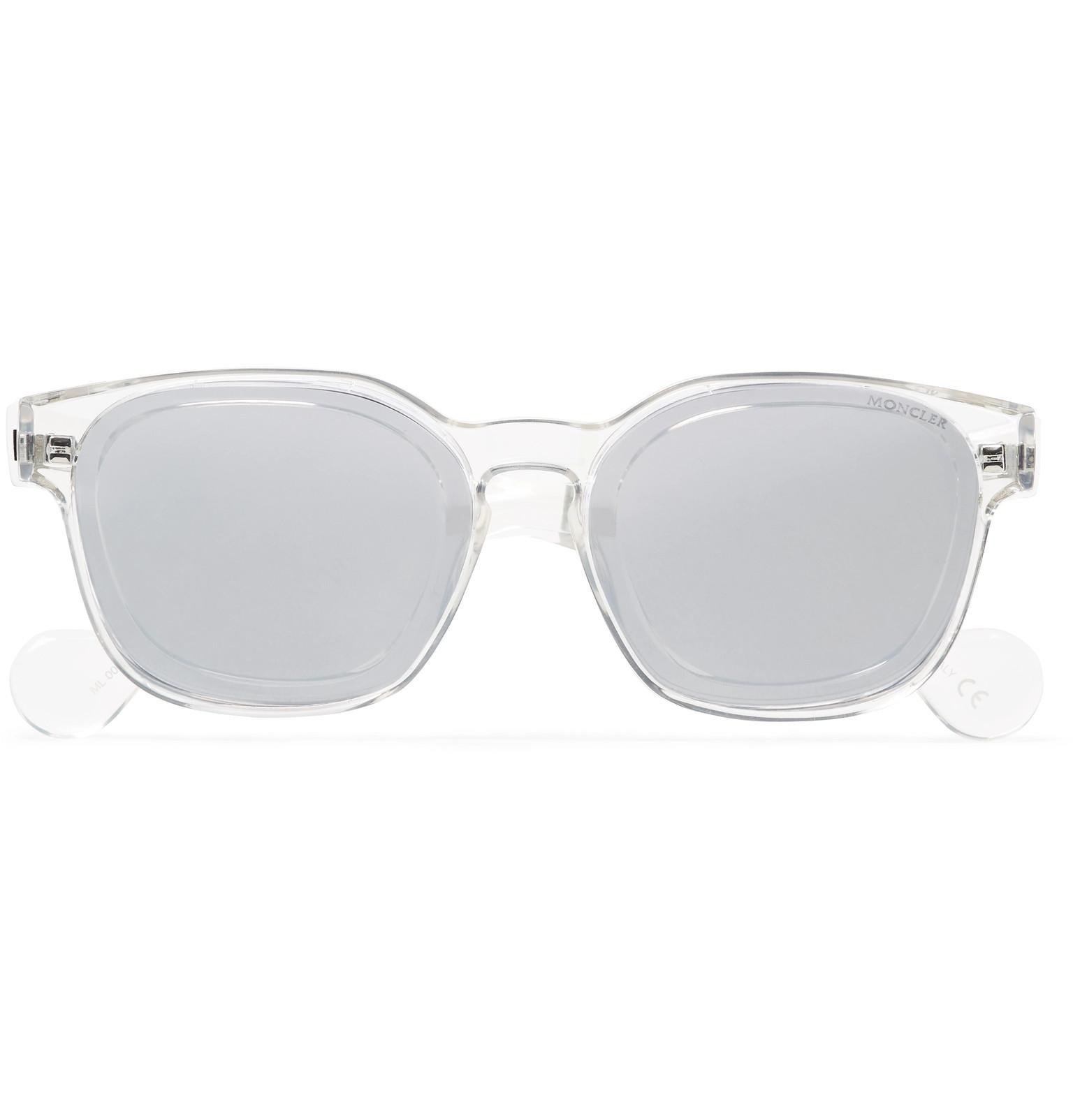 Moncler Square Square Frame Moncler Acetate Sunglasses pW8Fz1n8