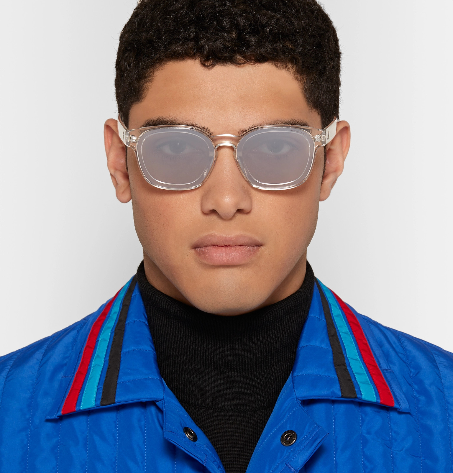 19b024be77 Moncler - Square-Frame Acetate Sunglasses