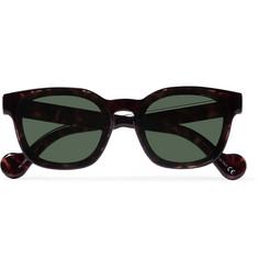4c4db2b90f Moncler Square-Frame Tortoiseshell Acetate Sunglasses