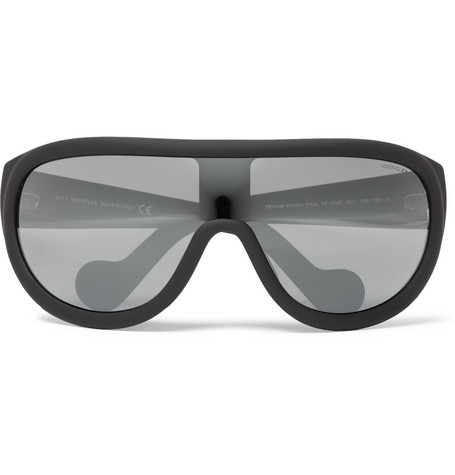 Moncler – Acetate Ski Sunglasses – Black