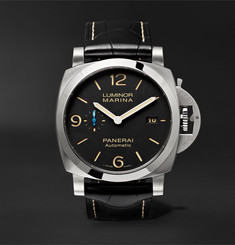 Panerai - Luminor Marina 1950 3 Days Acciaio 44mm Stainless Steel and Alligator Watch