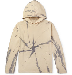Massimo Alba - Drake Tie-Dyed Cotton and Cashmere-Blend Hoodie