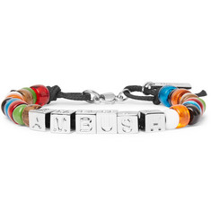 AMBUSH® Nobo Cord, Silver-Tone and Bead Bracelet