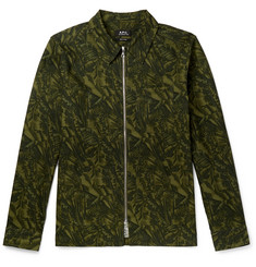 A.P.C. Harry Camouflage-Print Cotton-Ripstop Jacket