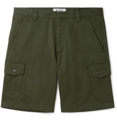 A.P.C. Slim-Fit Cotton-Twill Cargo Shorts