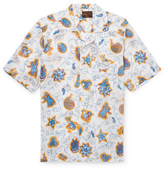 Loewe + Paula's Ibiza Camp-Collar Printed Cotton Shirt