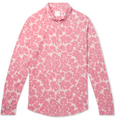 Sandro Floral-Print Voile Shirt