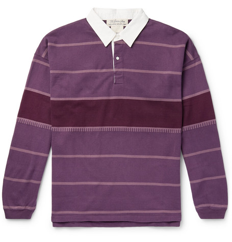 85352513acc Remi Relief - Striped Cotton-Jersey Rugby Shirt
