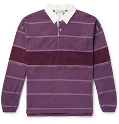 Remi Relief Striped Cotton-Jersey Rugby Shirt