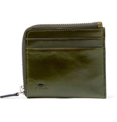 Il Bussetto - Polished-Leather Zip-Around Wallet