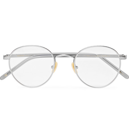 502057386dc Moscot Zis Round-Frame Acetate And Silver-Tone Optical Glasses ...