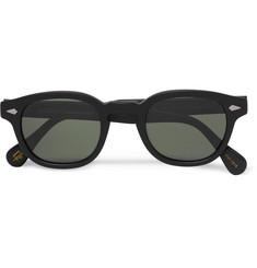 deac149824 Moscot Lemtosh Round-Frame Matte-Acetate Sunglasses · Moscot