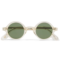 Moscot Round-Frame Acetate Sunglasses
