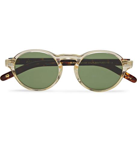ce3b93e216 Moscot - Glick Round-frame Tortoiseshell Acetate Sunglasses