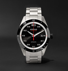 Montblanc - TimeWalker Date Automatic 41mm Stainless Steel and Ceramic Watch