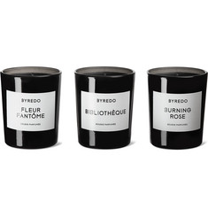 Byredo - La Sélection Violette Scented Candle Set, 3 x 70g