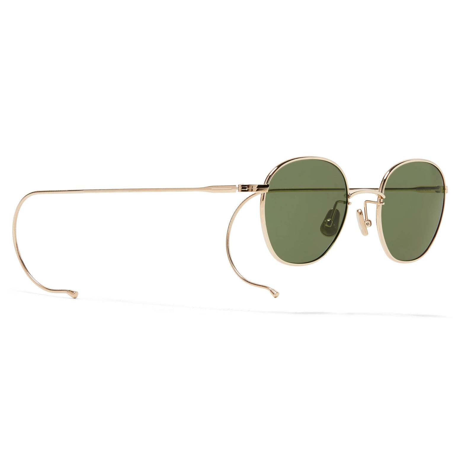 Frame Sunglasses Native Round Sons Gold Roy gRRqt1U