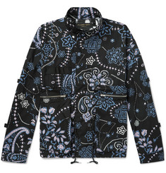 Flagstuff Printed Cotton Field Jacket