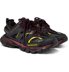 wholesale dealer 72589 f47f3 Balenciaga - Track Nylon, Mesh and Rubber Sneakers