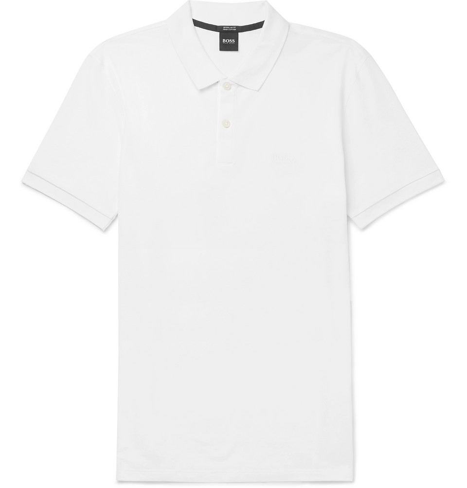 Hugo Boss Pallas Cotton-Pique Polo Shirt