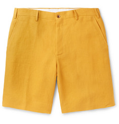 Anderson & Sheppard Linen Shorts