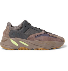 adidas Originals Yeezy Boost 700 Leather, Suede and Mesh Sneakers