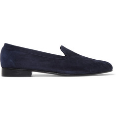 George Cleverley Hedsor Suede Loafers