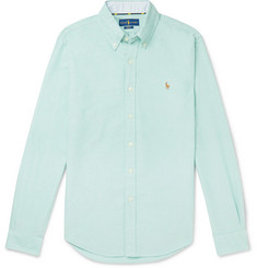 Polo Ralph Lauren Button-Down Collar Slim-Fit Cotton Oxford Shirt