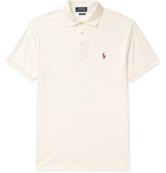 Polo Ralph Lauren Slim-Fit Mercerised Cotton-Piqué Polo Shirt