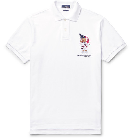 fa7317b9a Polo Ralph Lauren - Slim-Fit Logo-Embroidered Cotton-Piqué Polo Shirt