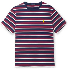 aa79d772 Polo Ralph Lauren Slim-Fit Striped Cotton-Jersey T-Shirt