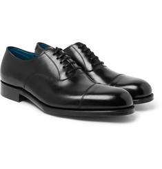 Grenson Gresham Cap-Toe Leather Oxford Shoes