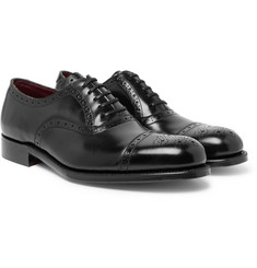 Grenson - Walbrook Cap-Toe Leather Oxford Brogues