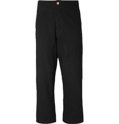 Story Mfg. British Wide-Leg Organic Cotton-Twill Trousers
