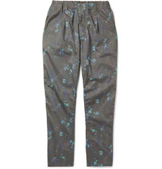 nonnative Manager Easy Tapered Floral-Print Cotton Trousers