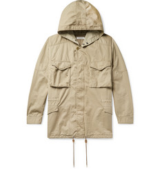 nonnative Hunter Cotton and Linen-Blend Twill Hooded Field Jacket