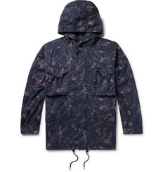 nonnative + Liberty of London Hunter Printed Cotton-Twill Hooded Field Jacket