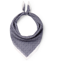 Anderson & Sheppard - Printed Cotton Scarf