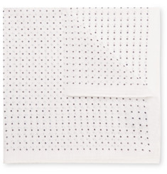 Anderson & Sheppard - Polka-Dot Cotton Pocket Square
