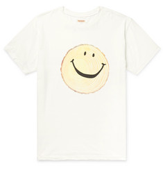 KAPITAL Printed Cotton-Jersey T-Shirt