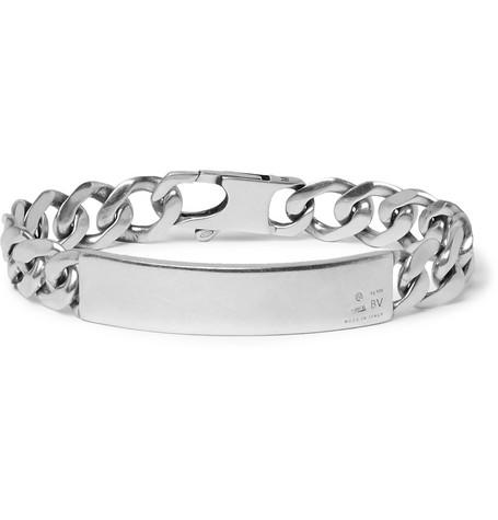 Bottega Veneta – Sterling Silver Bracelet – Silver