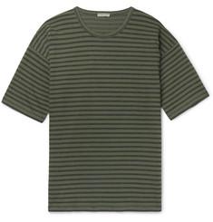 d84aa85a77 Bottega Veneta Striped Cotton-Jersey T-Shirt