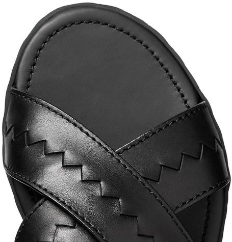 Bottega Veneta Sandals Intrecciato Leather Sandals