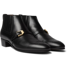 Gucci Worsh Leather Boots