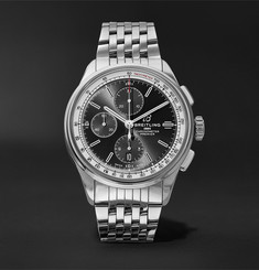Breitling Premier Chronograph 42mm Stainless Steel Watch