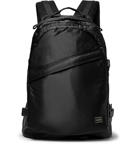 PORTER-YOSHIDA & CO Nylon Backpack in Black
