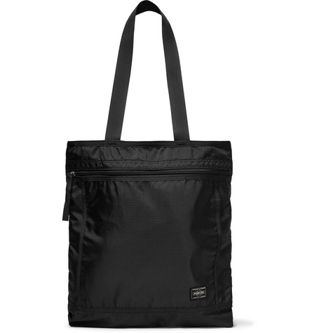 PORTER-YOSHIDA & CO Padded Shell Tote Bag in Black