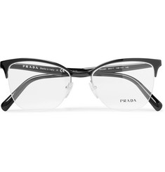 Prada - D-Frame Acetate Optical Glasses