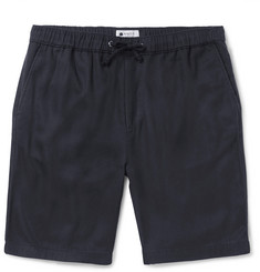 NN07 Pelle Slim-Fit Linen Drawstring Shorts