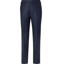 Kingsman - Rocketman Navy Slim-Fit Wool-Twill Suit Trousers